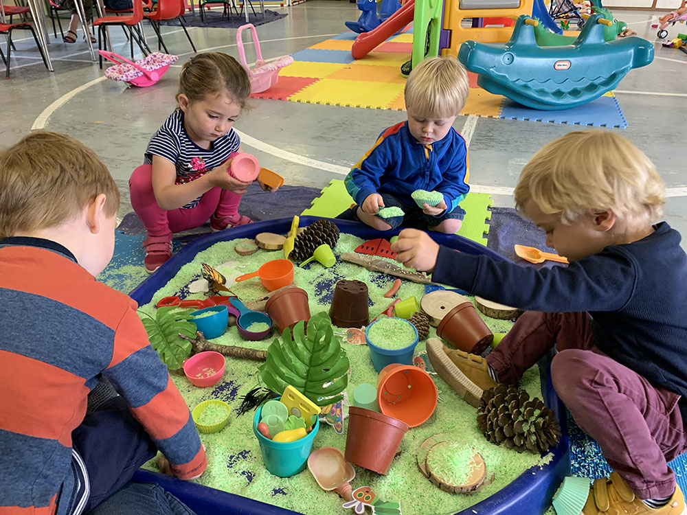Ducklings Playgroup Mulbarton Messy Play Norwich