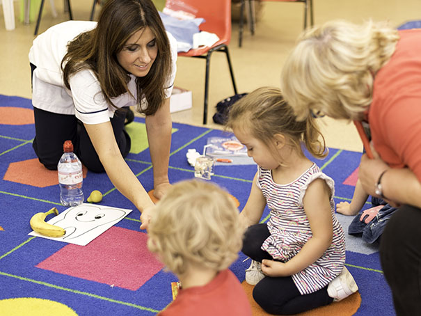 Preschool visit Audrey Costa Dentist